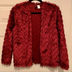Zara shaggy sweater